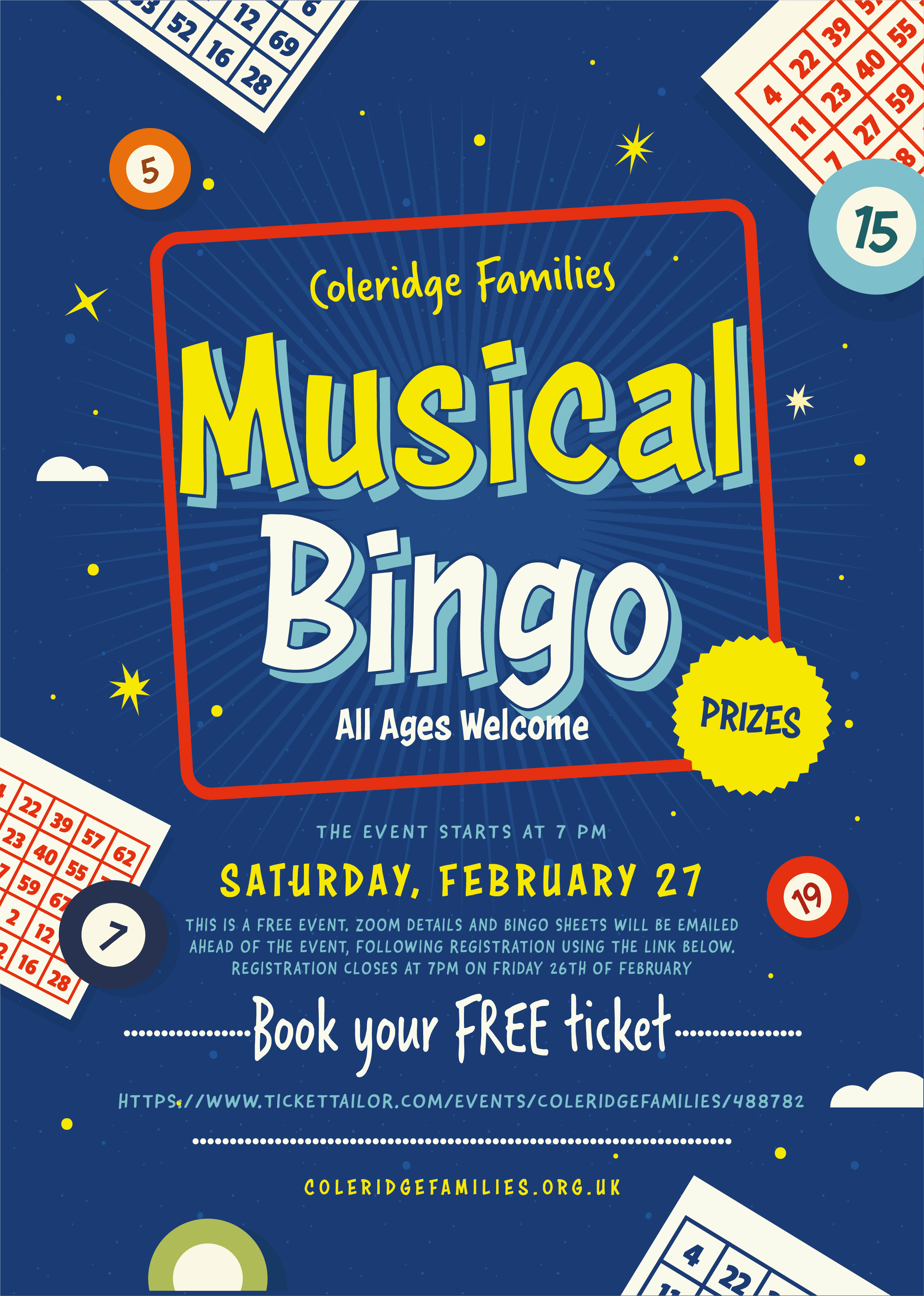 Musical Bingo for all the family